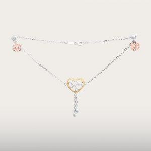 BEAUTIFUL GOLD ANKLET - UBSLifestyle – Perhiasan Emas – Gold Jewelry
