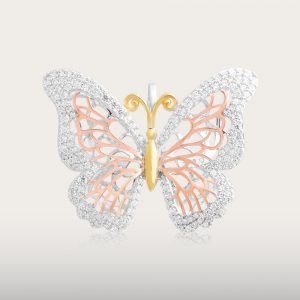 FLYING BUTTERFLY PENDANT - UBSLifestyle – Perhiasan Emas – Gold Jewelry