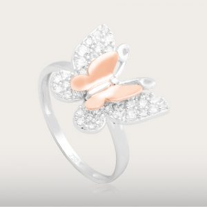 LITTLE BUTTERFLY RING - UBSLifestyle – Perhiasan Emas – Gold Jewelry