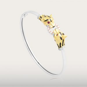 PANTHER OSCAR BANGLE - UBSLifestyle – Perhiasan Emas – Gold Jewelry