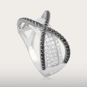 BLACK STAR RING - UBSLifestyle – Perhiasan Emas – Gold Jewelry