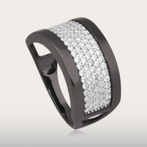 BEAUTIFUL BLACK GOLD RING - UBSLifestyle – Perhiasan Emas – Gold Jewelry