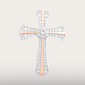 GOLDEN CROSS PENDANT - UBSLifestyle – Perhiasan Emas – Gold Jewelry