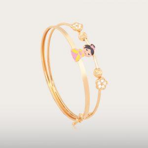 BEAUTIFUL GOLD BABY BANGLE - UBSLifestyle - Perhiasan Emas - Gold Jewelry