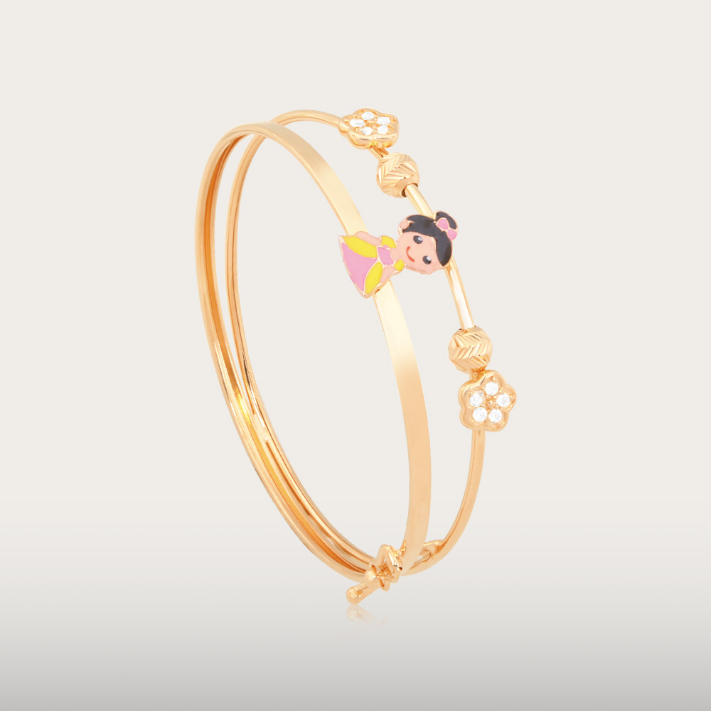 BEAUTIFUL GOLD BABY BANGLE