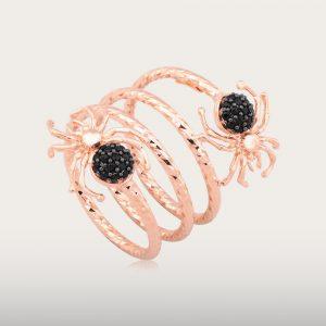 BLACK SPIDER RING - UBSLifestyle – Perhiasan Emas – Gold Jewelry
