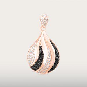 FANCY LOVE PENDANT - UBSLifestyle – Perhiasan Emas – Gold Jewelry