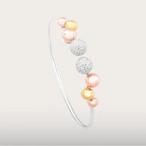 METROPOLIS BANGLE - UBSLifestyle - Perhiasan Emas - Gold Jewelry