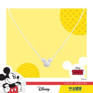 MICKEY MOUSE NECKLACE - UBSLifestyle – Perhiasan Emas – Gold Jewelry