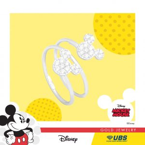 MICKEY MOUSE RING - UBSLifestyle – Perhiasan Emas – Gold Jewelry
