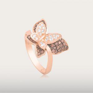 ELEGANT BROWNSTAR RING - UBSLifestyle – Perhiasan Emas – Gold Jewelry