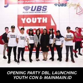 OPENING PARTY DBL, LAUNCHING YOUTH CON & MAINMAIN.ID