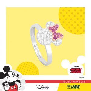 MINNIE MOUSE RING - UBSLifestyle – Perhiasan Emas – Gold Jewelry