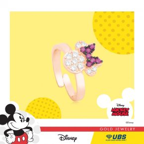 MINNIE MOUSE BABY RING