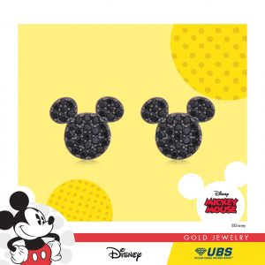 MICKEY MOUSE EARRING - UBSLifestyle – Perhiasan Emas – Gold Jewelry
