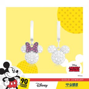 MICKEY & MINNIE MOUSE EARRING