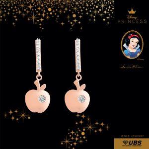 SNOW WHITE EARRING - UBSLifestyle – Perhiasan Emas – Gold Jewelry