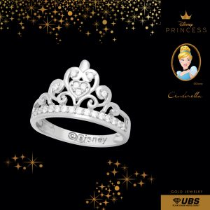 CINDERELLA RING - UBSLifestyle - Perhiasan Emas - Gold Jewelry