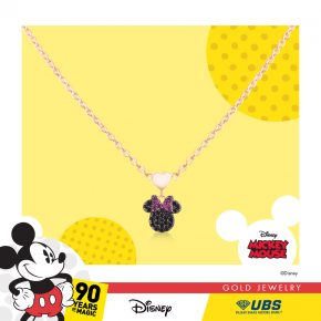 MINNIE MOUSE BABY NECKLACE