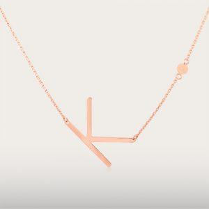 ALPHA BETA NECKLACE - UBSLifestyle – Perhiasan Emas – Gold Jewelry