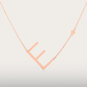 ALPHA BETA NECKLACE - UBSLifestyle - Perhiasan Emas - Gold Jewelry
