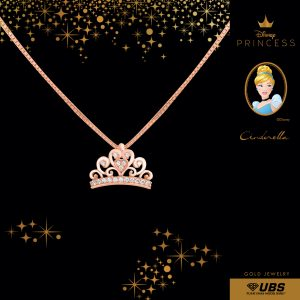 CINDERELLA NECKLACE - UBSLifestyle - Perhiasan Emas - Gold Jewelry