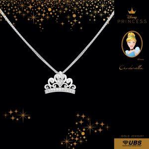 CINDERELLA NECKLACE - UBSLifestyle - Perhiasan Emas - Gold Jewelry