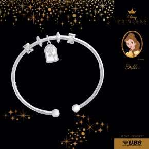 BELLE CHARM BANGLE - UBSLifestyle - Perhiasan Emas - Gold Jewelry