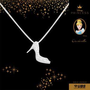 CINDERELLA NECKLACE - UBSLifestyle – Perhiasan Emas – Gold Jewelry