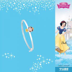 SNOW WHITE BABY BANGLE - UBSLifestyle – Perhiasan Emas – Gold Jewelry