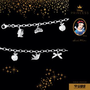 SNOW WHITE BRECELET