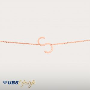 ALPHA BETA BRACELET - UBSLifestyle – Perhiasan Emas – Gold Jewelry