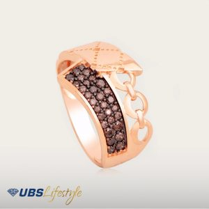 ELEGANT BROWNSTAR RING - UBSLifestyle – Perhiasan Emas – Gold Jewelry