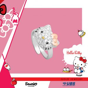 HELLO KITTY BABY RING - UBSLifestyle – Perhiasan Emas – Gold Jewelry