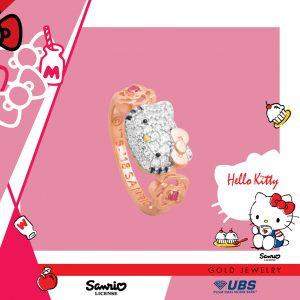 HELLO KITTY RING - UBSLifestyle – Perhiasan Emas – Gold Jewelry