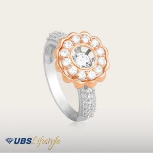 FLASHING STAR RING - UBSLifestyle – Perhiasan Emas – Gold Jewelry