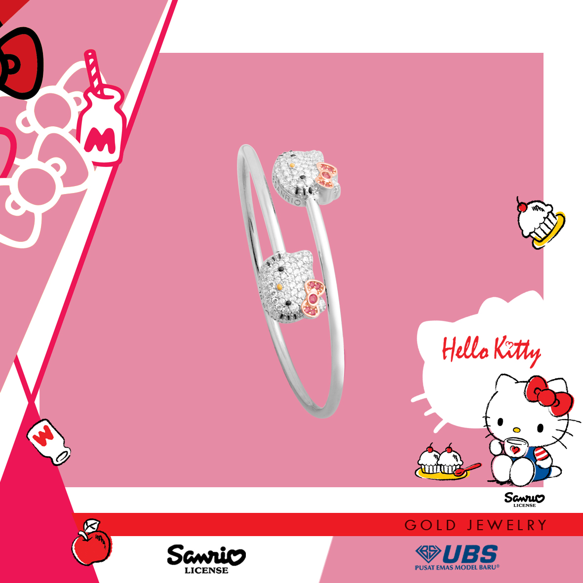 HELLO KITTY BANGLE