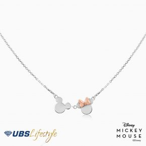 MICKEY & MINNIE MOUSE NECKLACE