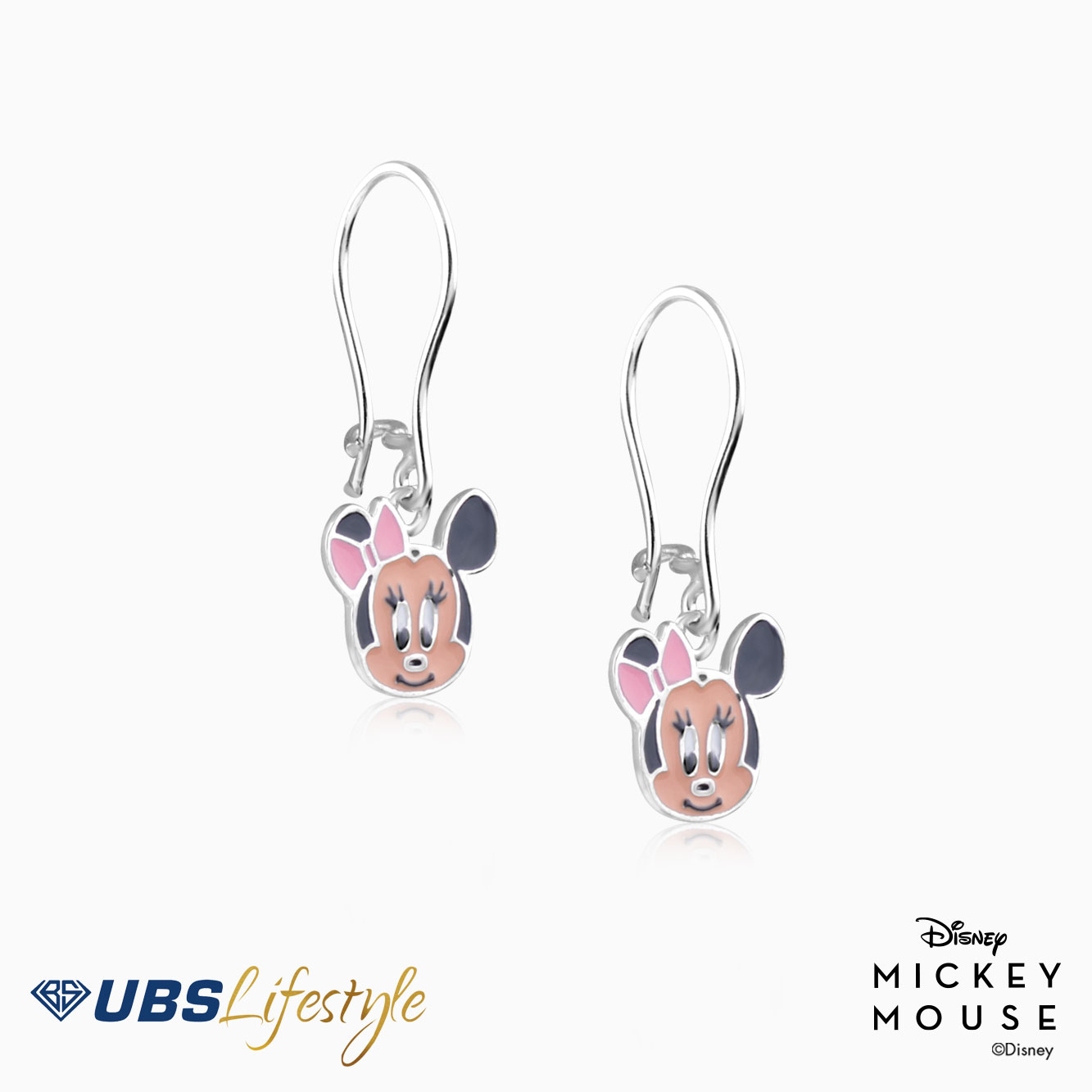 ANTING EMAS DISNEY MINNIE MOUSE