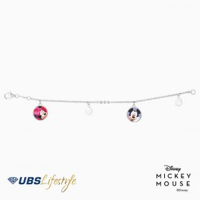 GELANG EMAS DISNEY MICKEY & MINNIE MOUSE
