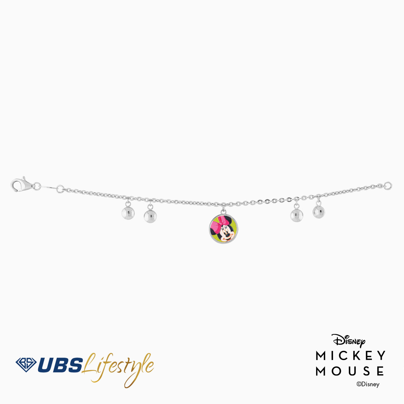 GELANG EMAS DISNEY MINNIE MOUSE