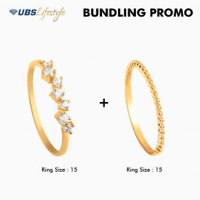 CINCIN EMAS  UBS CLUSTERA DAN TWO WAY LOOKS (10)
