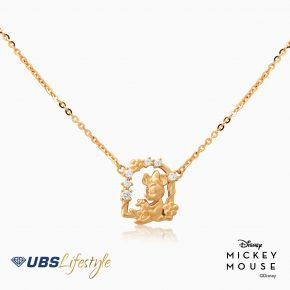 KALUNG EMAS DISNEY MINNIE MOUSE 17K
