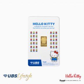 FINE GOLD SANRIO HELLO KITTY EDITION 2 GR F