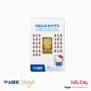 FINE GOLD SANRIO HELLO KITTY EDITION 5 GR F