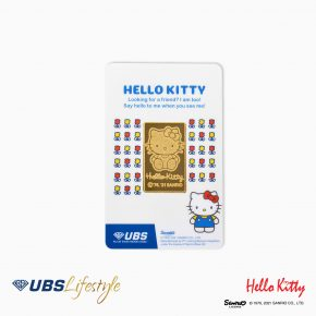 FINE GOLD SANRIO HELLO KITTY EDITION 10 GR F