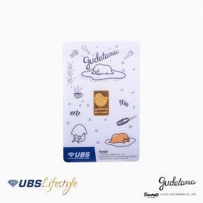 FINE GOLD SANRIO GUDETAMA EDITION 2 GR