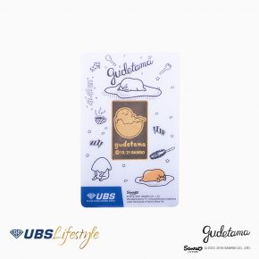 FINE GOLD SANRIO GUDETAMA EDITION 10 GR