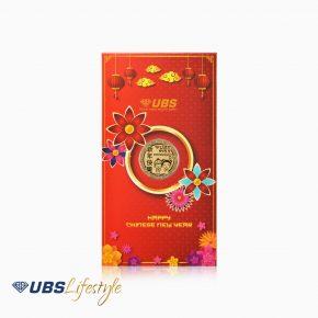 ANGPAO EMAS CHINESE NEW YEAR EDITION 0.1 GR