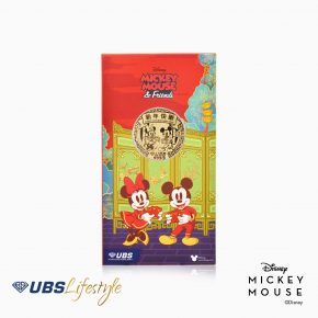 ANGPAO EMAS DISNEY MICKEY & MINNIE MOUSE CHINESE NEW YEAR EDITION 0.2 GR